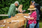The Lion's Club book sale drew a steady stream of attendees interested in finding a good, cheap book to take home.