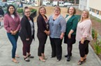 Perinatal Substance Use Disorder Project workgroup participants from left: Patty Torres, Jessica Osborne-Stafsnes, Michele Stephens, Mary Ann Hansen, Laura Mojica and Emily Adams.