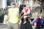 Richard and Jenny Karevoll brought their 15 month old son Wyland to the walk.