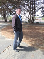 Eureka Parks and Recreation Director Miles Slattery