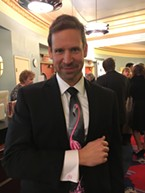 If you're going to wear the flamingo tie, you need the flamingo cufflinks. Just ask John Richmond.