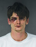 Kyle Christopher Zoellner's booking photo.