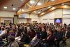 More than 250 people attended the opioid town hall meeting last night put together by state Sen. Mike McGuire and Humboldt County Supervisor Virginia Bass.