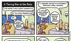 A Taxing Day at the Polls