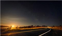 North Coast Night Lights: Kneeland Road, One Year Later