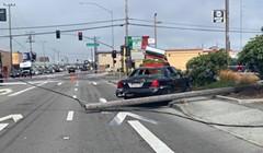 Crash Closes Down Broadway