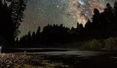 North Coast Night Lights: Eel River Stargazer