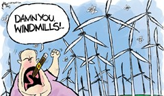Damn You Windmills!