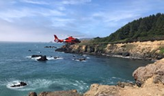 UPDATE: Rescue Swimmers, Helicopter, Boats Continue Search for Fallen Hiker