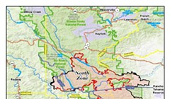 SECOND UPDATE: More Areas of SoHum Under Warning, Ruth Lake Under Evacuation