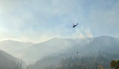 Red Salmon Complex: Fire Remained in Planned Containment Lines