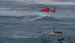 U.S. Coast Guard Rescues Distressed Fishermen Near