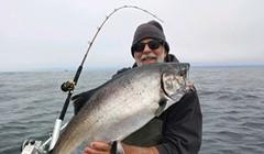 Eureka Salmon Finally Show Up
