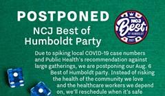 Best of Humboldt Party Postponed