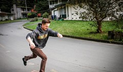 Hand Making Skateboards in Arcata