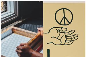 Hand Drawn Screen Printing