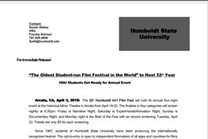 Humboldt Int'l Film festival