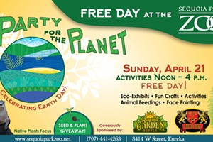 Free Day at Zoo: Party for the Planet