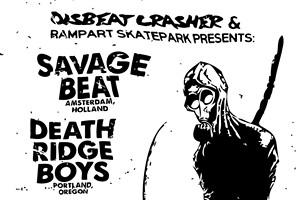 Savage Beat & Death Ridge Boys at Rampart Skatepark