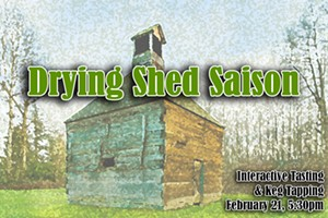 Drying Shed Saison Release