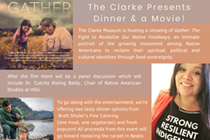 The Clarke Presents Dinner and a Movie