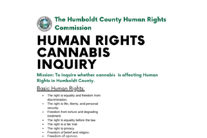 Humboldt Human Rights Cannabis Inquiry Survey