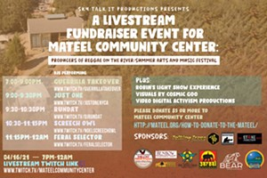 Sky Talk It Productions Livestream Fundraiser for the Mateel