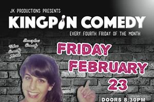 Kingpin Comedy: Andrea B