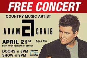 Be Country Concert - Adam Craig, McKenna Faith