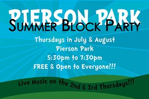 Pierson Park Summer Block Party