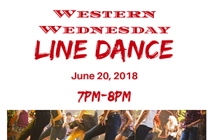 Western Wednesday _ LSJ  Line Dance Instruction