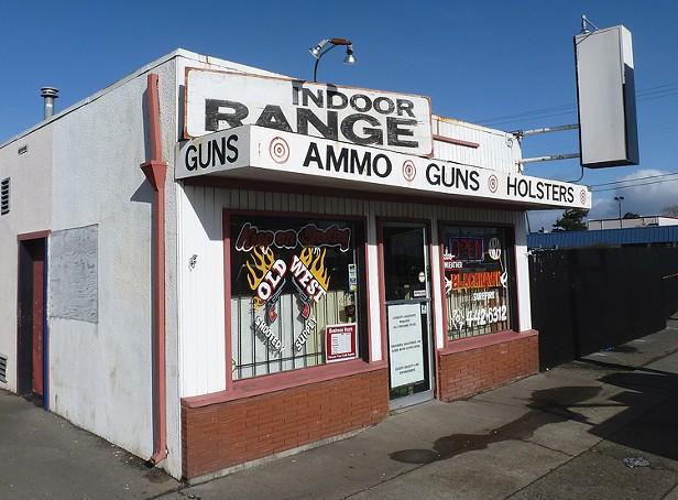 At the Shooting Range