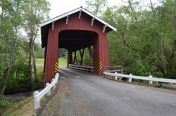 Jacoby Creek Covered Bridge
