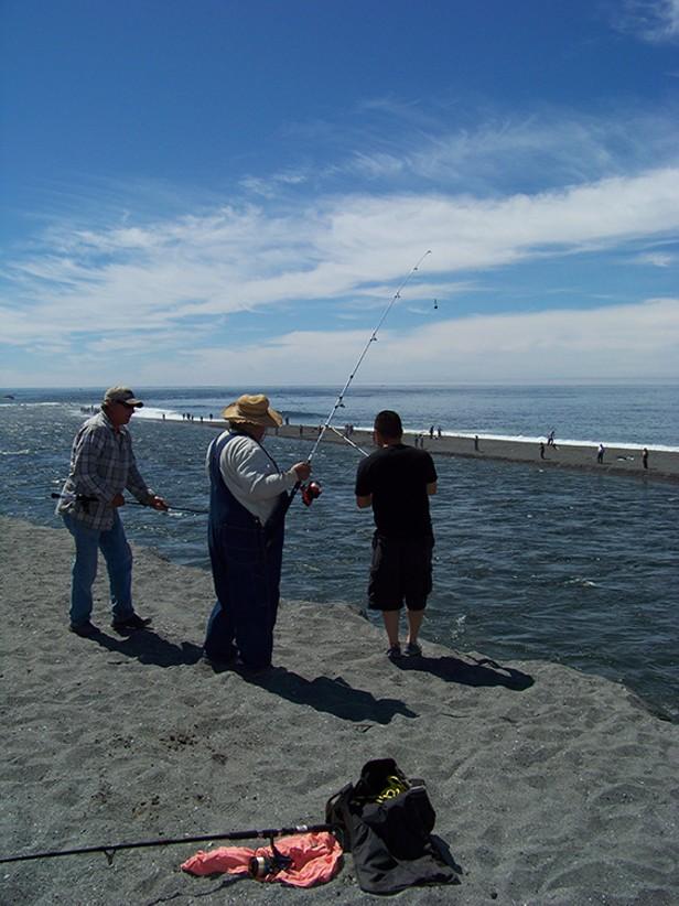 Combat Fishing on the Klamath
