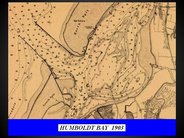 Charts of Humboldt Bay