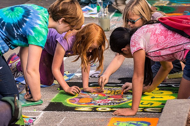 Pastels on the Plaza 2015