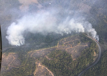 Fourth Update: New Fire Springs Up Off Kneeland Road