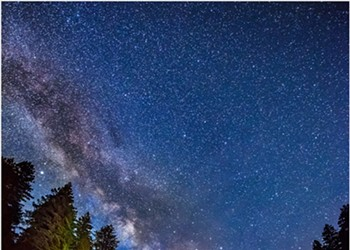 North Coast Night Lights: Milky Way over South Fork Eel River — Painting with Light