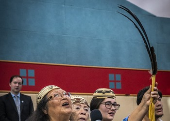 Duluwat Island is Returned to the Wiyot Tribe in Historic Ceremony