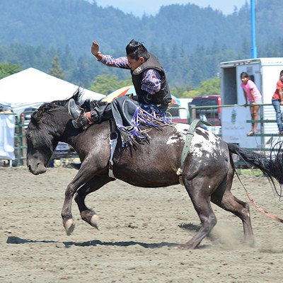 Hoopa Rodeo 2018