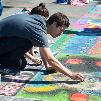 Pastels on the Plaza 2018