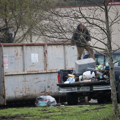 Homeless Encampment Sweep