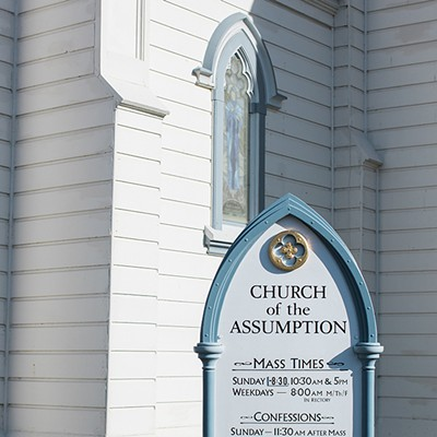 Ferndale's Church of the Assumption