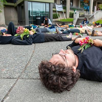 HSU Climate Change Protest
