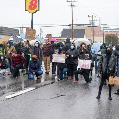 More Photos from the Black Lives Matter, George Floyd Protest in Eureka