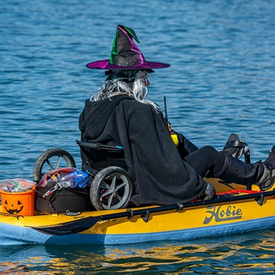 Witch's Paddle on Humboldt Bay, 2020