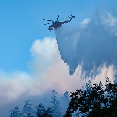 Scenes from the Knob Fire