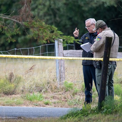 Mad River Road Shooting