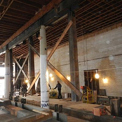 Carson Block Building Restoration - Standing Sentry