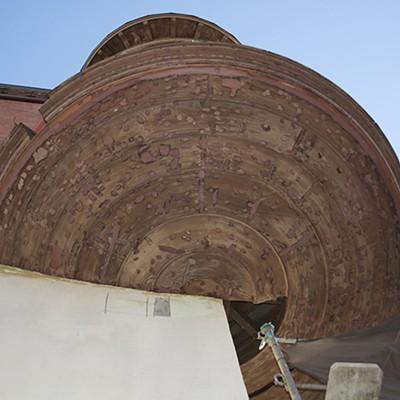 Carson Block Building Restoration - Existing Turret Restoration